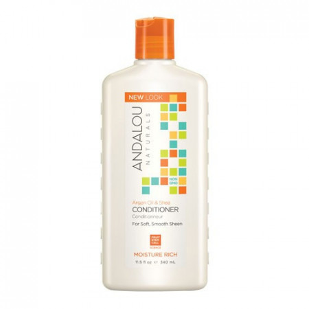 Argan Oil & Shea Moisture Rich Conditioner, 340ml, Andalou