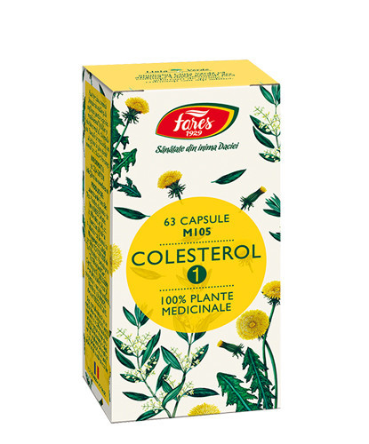 Colesterol 1, M105, 63cps, Fares