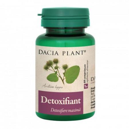 Detoxifiant, 60cps, Dacia Plant
