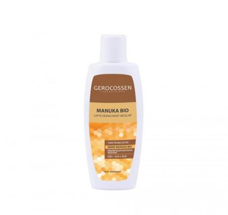Lapte demachiant micelar Manuka Bio, 200 ml, Gerocossen