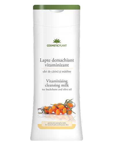 Lapte demachiant vitaminizant catina&masline, 200ml, Cosmetic Plant