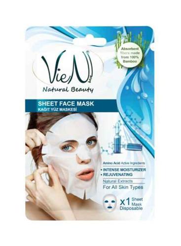 Masca faciala tip servetel cu aminoacid, 25g, Vien
