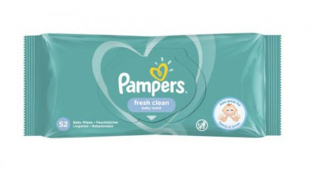 Pampers servetele umede, 52buc, Procter&Gamble