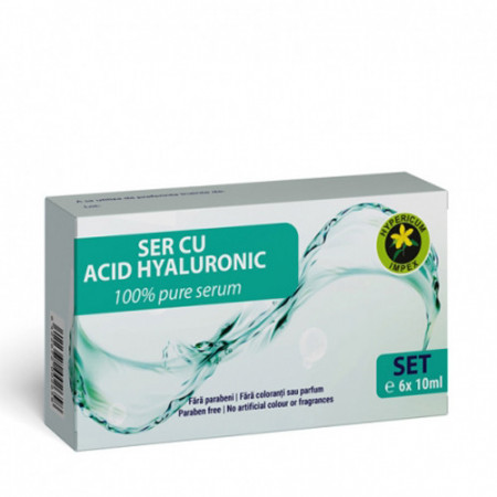 Set Acid Hialuronic 6x10ml, Hypericum