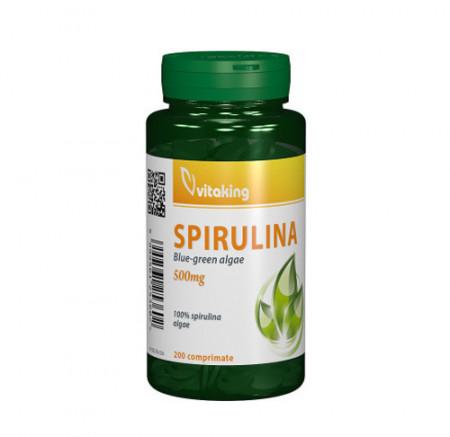 Spirulina 500mg, 200cps, Vitaking