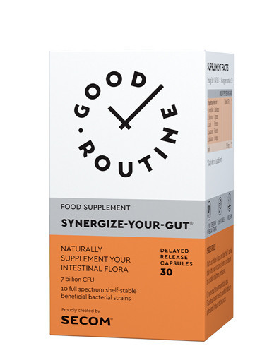 Synergize-Your-Gut, 30cps, Good Routine