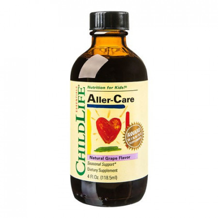 Aller-Care(gust de struguri), 118.50ml, ChildLife