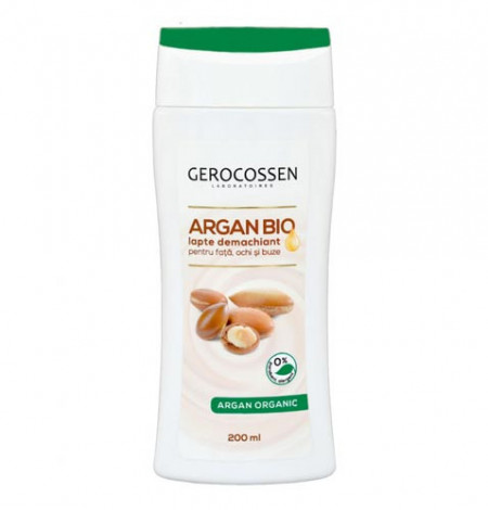 Argan bio lapte demachiant, 200 ml, Gerocossen