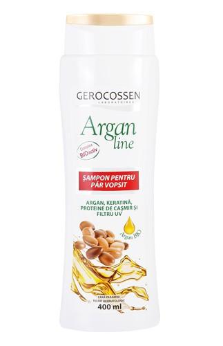 Argan line sampon par vopsit, 400 ml, Gerocossen