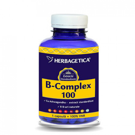 B-complex 100, 120cps, Herbagetica
