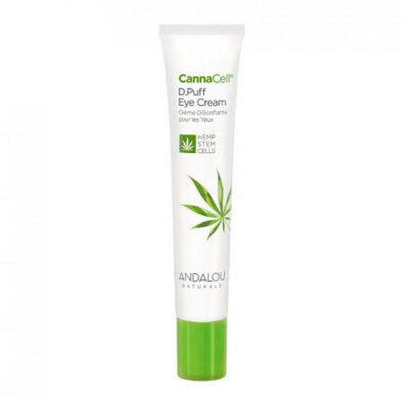 CannaCell D.Puff Eye Cream, 18ml, Andalou
