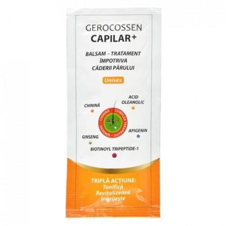 Capilar+ plic balsam tratament impotriva caderii parului, plic 15 ml, Gerocossen
