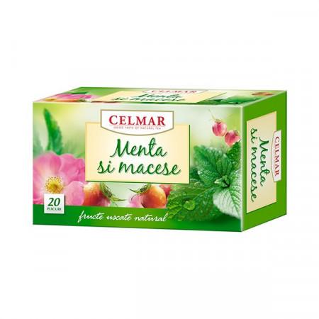 Ceai de Menta&Macese, 20dz, Celmar