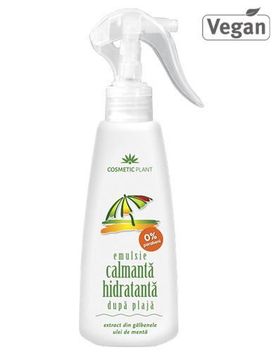Emulsie spray calmanta-hidratanta dupa plaja, 200ml, Cosmetic Plant Plaja
