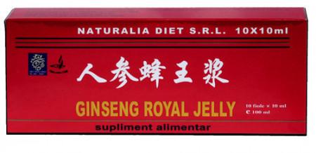 Ginseng & Royal Jelly, 10X10ml, Naturalia Diet