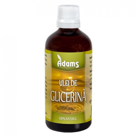 Glicerina naturala, 100ml, Adams Vision