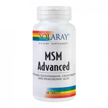 MSM Advanced, 60tab. ActivTab, Solaray