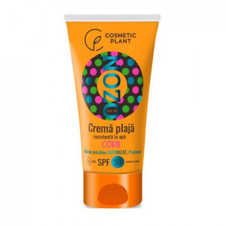 Ozon crema plaja SPF50 pt. copii, 150ml, Cosmetic Plant Plaja