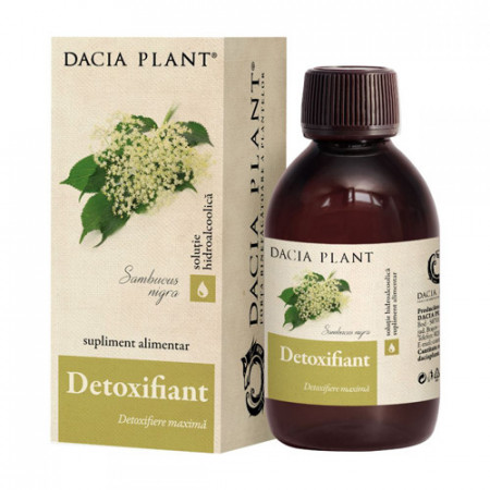 Remediu Detoxifiant tinctura, 200ml, Dacia Plant