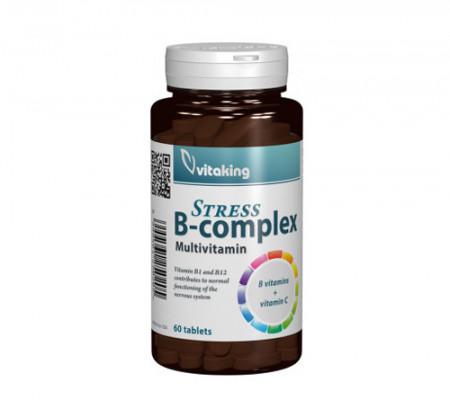 Stress B complex cu vitamina C, 60cps, Vitaking
