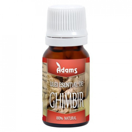 Ulei esential de Ghimbir, 10ml, Adams Vision
