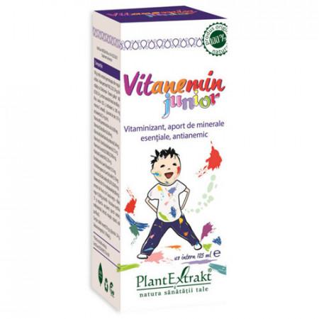 Vitanemin Junior, 125ml, PlantExtrakt