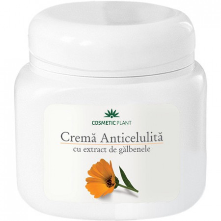 Cremă anticelulita cu extract de galbenele, 500ml, Cosmetic Plant