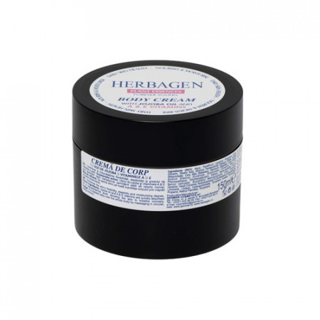 Crema corp jojoba si vit A&E, 150ml, Herbagen