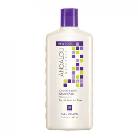 Lavender & Biotin Full Volume Shampoo, 340ml, Andalou