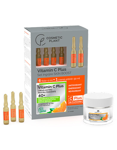 Set îngrijire Skin Boost 40+, Cosmetic Plant