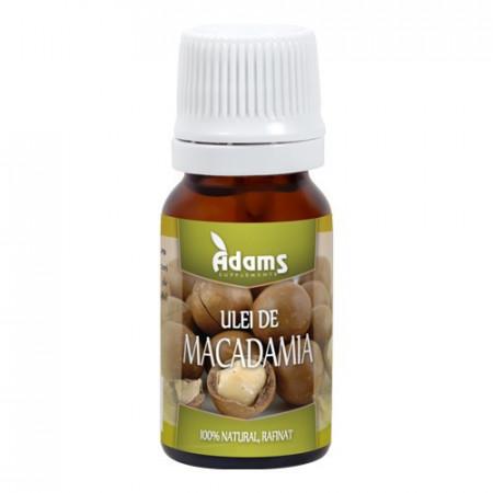 Ulei de Macadamia, 10ml, Adams Vision