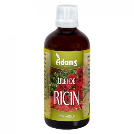 Ulei de Ricin, 100ml, Adams Vision