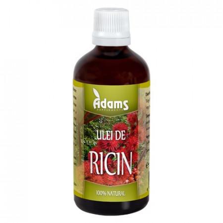 Ulei de Ricin, 100ml, Adams Vision