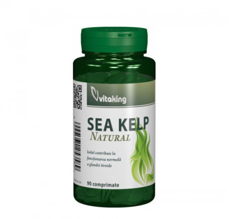Alga marina (Sea Kelp) 30mg, 90cps, Vitaking