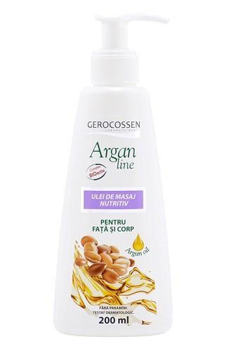 Argan line ulei de masaj nutritiv, 200 ml, Gerocossen