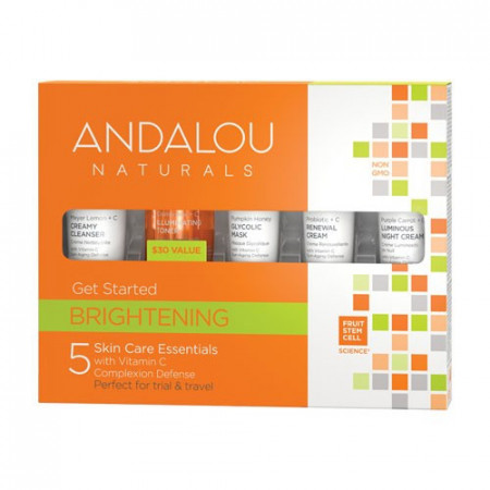 Brightening Get Started Kit, Andalou