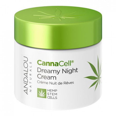 CannaCell Dreamy Night Cream, 50g, Andalou