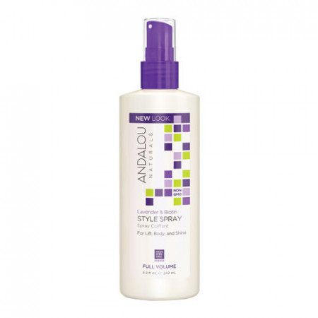 Lavender & Biotin Full Volume Style Spray, 242ml, Andalou