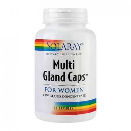 Multi Gland Caps For Women, 90cps, Solaray