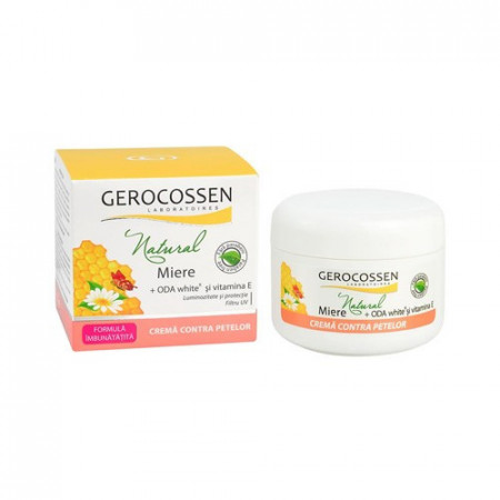 Natural miere crema contra petelor, 100 ml, Gerocossen