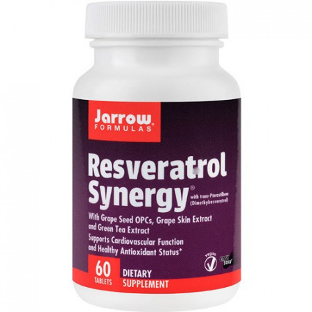 Resveratrol Synergy 20mg, 60cps, Jarrow Formulas