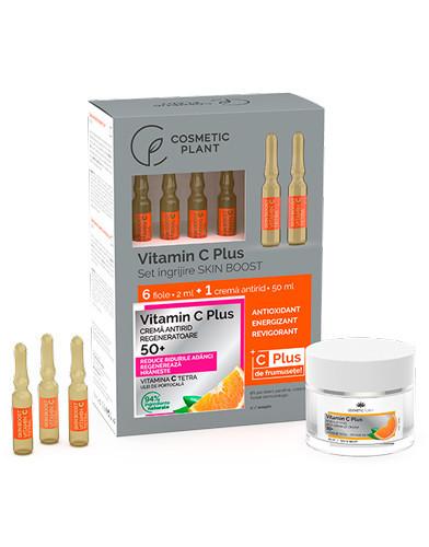 Set îngrijire Skin Boost 50+, Cosmetic Plant