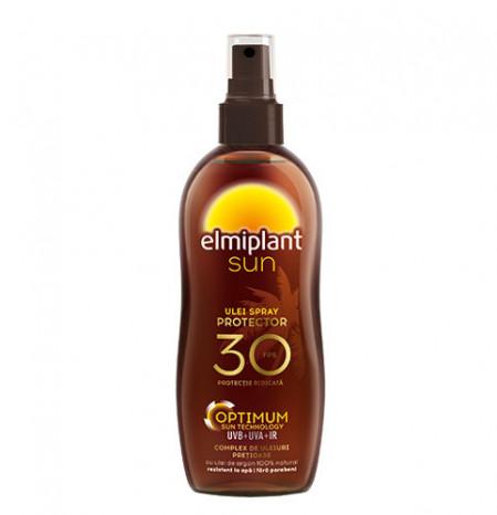 Sun ulei spray plaja protector, SPF30, 150ml, Elmiplant Plaja