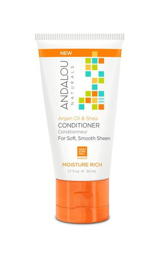 Argan Oil & Shea Moisture Rich Conditioner, 50ml, Andalou