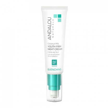 Coconut Milk Youth Firm Night Cream, 50g, Andalou