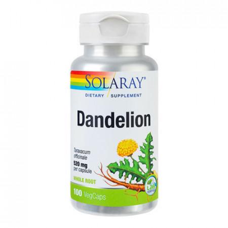 Dandelion (Papadie) 520mg, 100cps, Solaray