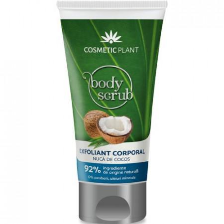 Exfoliant corporal cu nucă de cocos, 150ml, Cosmetic Plant