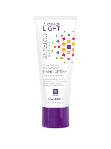 Lavender Hand Cream, 100ml, Andalou