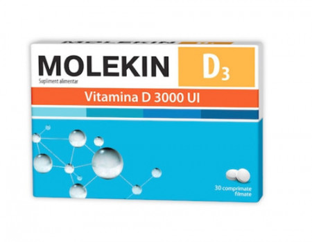 Molekin D3 3000UI, 30cps, Zdrovit