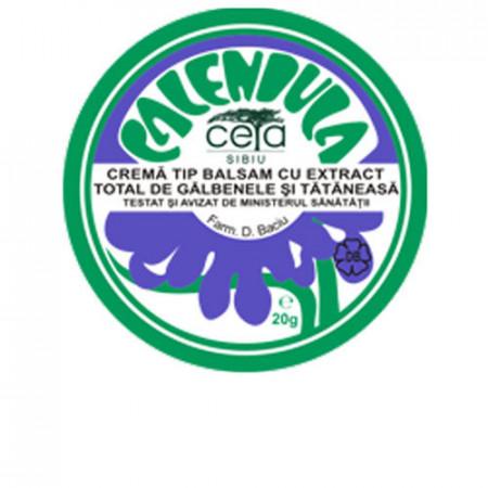 Unguent cu extract de galbenele si tataneasa, 20g, Ceta Sibiu
